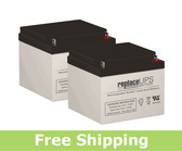 Theradyne EV1776-EV1866 (Pediatrics Models) - Wheelchair Battery Set