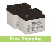 IMC Heartway Allure HP6 - Wheelchair Battery Set
