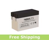 Diamec DM12-2.8P - SLA Battery