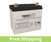 Apex Battery APX12-55 - SLA Battery
