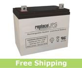 Apex Battery APX12-75 - SLA Battery