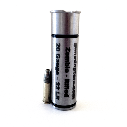 Zombe Sereis 20 gauge to .22LR Adapter