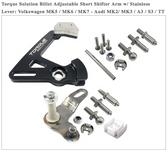 Billet Adjustable Short Shifter Arm: Short Shifter Kit. 6spd. (F/B & S/S throws)