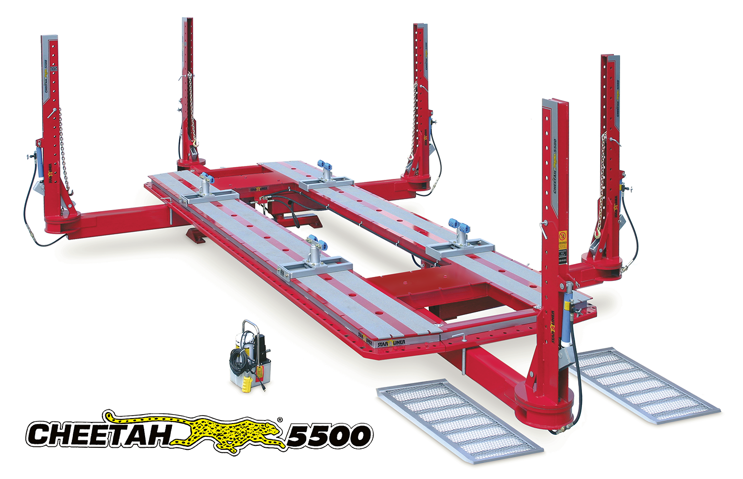Star-a-Liner Cheetah 5500 20\' Five Tower Frame Machine W/ AIR-HYD ...