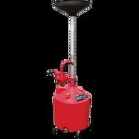 Ranger RD-18G 18-Gallon Portable Oil Drain With Pump and Drain Valve