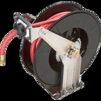 Ranger RH-50PL Dual Support, Spring Rewind Hose Reel and 50' / 300 psi Hose