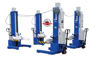 Ideal MSC-18K-X-472  Single Mobile Column Lift System 72,000 Lbs. Capacity (Set of 4)