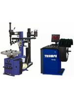 Triumph NTC-950-1 + NTB-800 TIRE CHANGER AND WHEEL BALANCER
