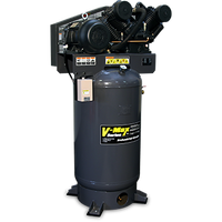 BendPak 7580V-603 V-MAX Elite™ Air Compressor, 7.5 HP, 80‐Gallon Vertical Tank, 3 Phase