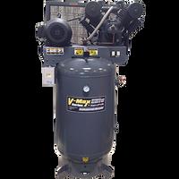 BendPak 10120V-603 V-MAX Elite™ Air Compressor, 10 HP, 120‐Gallon Vertical Tank, 3 Phase
