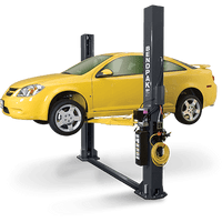 BendPak XPR-9S Dual-Width, 9,000 Lb. Cap, Floor Plate, Chain-Over, Screw Pads, Short Lift