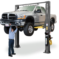 "BendPak XPR-10S-LP Tall 168"" Low-Pro Arms, Dual-Width, 10,000 Lb. Capacity, Two-Post Lift, Symmetric"