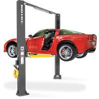 "BendPak XPR-10AS 168 LOW-PRO Arms Extra Tall 168""  Asymmetric  Two Post  Lift 10,000 LBS Capacity"