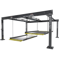 BendPak  PL-6KDTX 12,000-lb. Cap. Parking Lift / Tandem / Independent Platforms / EXTRA WIDE/SPECIAL ORDER