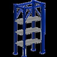 BendPak PL-18000  Four Level Four Post Parking Lift -Special Order