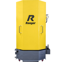 Ranger RS-750D PARTS WASHER SKU#5155118 HEAVY-DUTY SPRAY WASH CABINET WITH SKIMMER, DELUXE, DUALHEATERS, LOW-WATER SHUTOFF