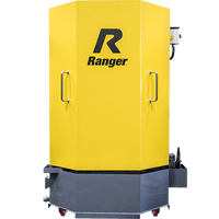 Ranger RS-500D PARTS WASHER SKU#5155117 PROFESSIONAL SPRAY WASH CABINET WITH SKIMMER, DELUXE, DUALHEATERS, LOW-WATER SHUTOFF