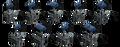 Replacement for Nordson 272323,  Hot Melt Gun
