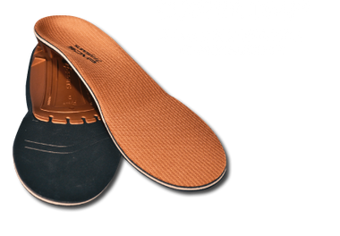 Superfeet COPPER DMP - Shoe Insole For Low to Medium Arch Support