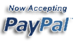 We accept Paypal as Payment for your sweets and treats