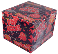 Pop Rocks Popping Candy - Strawberry, by Pop Rocks and Zeta Espacial,  and more goodies at The Professors Online Lolly Shop. (Image Number :2103)