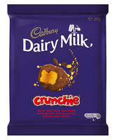 Cadbury Dairy Milk Large Crunchie Blocks (350g x 10pc box)