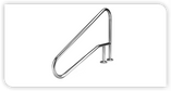 INTER-FAB | HANDRAIL DM W/BRC 4 BEND EARTH | D4BD049-3 (D4BD049-3)