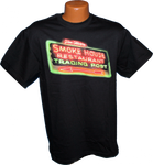 Like a beacon in the night, the Smoke House Neon Sign has been a guiding light to travelers passing over rugged Monteagle Mountain for many years. Neon Sign after dark on the front of the shirt, no image on back. Standard Cut sizes.