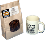 Hamper McBee Moonshine Mug & Fresh Smoke House Coffee