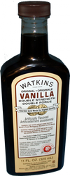 Rich Natural Dark Double Strength Double Force Vanilla, with real Vanilla extract made from the World's Finest Madagascar Bourbon Vanilla Beans. Low Alcohol, Bake Proof, Freeze Proof, so it's perfect in recipes requiring baking and or freezing. 11 oz bottle.