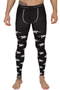 Emilio Cavallini All Over Frogs Meggings (footless tights for men, or leggings for men)