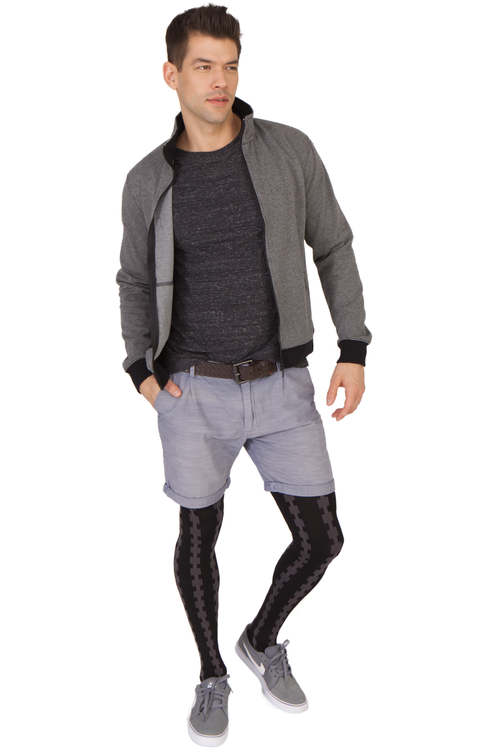 Buy Emilio Cavallini's Vertical Cable male tights / mantyhose / pantyhose for men.