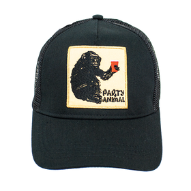 Peter Grimm - Ape Party Animal Trucker Cap Black