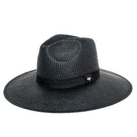Peter Grimm - Alexa Wide Brim Straw Hat Black