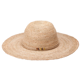Peter Grimm - Beach Getaway 100% Raffia Hat Natural