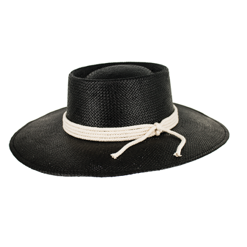 Peter Grimm - Lis 100% Straw Resort Hat Black