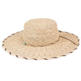 Peter Grimm - Antoinette 100% Straw Resort Hat Natural