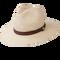 Peter Grimm - Radcliff 100% Chinese Panama Straw Wide Brim Fedora Natural