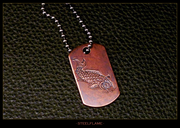 Steel Flame - Koi Copper Tag