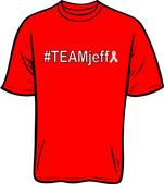 #TEAMjeff T-shirt - Ribbon