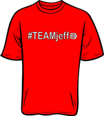 #TEAMjeff T-shirt - Rose