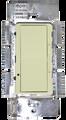 (SDM/600W/ALMOND) Sliding Dimmer Single Pole 600W Almond