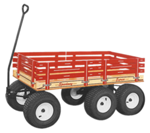 Speedway Express - Series 860 Six Wheel Tandem Wagon