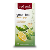 RED SEAL LEMON AND GINGER 25 TEABAGS