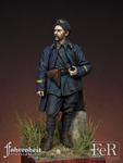 FeR Miniatures - Lieutenant, French Chasseurs Alpins, Diables Bleus, 1918