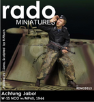 Rado Miniatures: Achtung Jabo! - Waffen SS NCO w/MP40, 1944