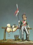 Andrea Miniatures: The Napoleonic Wars  - French Lancer, 1812