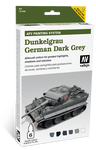Vallejo - Model Air - German Dark Grey Paint Set