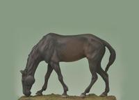 Andrea Miniatures - Grazing Horse