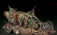 Andrea Miniatures - Tank Fight on the Western Front, 1916